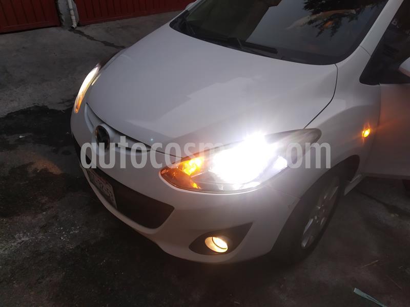 Mazda 2 Touring usado (2012) color Blanco precio $130,000