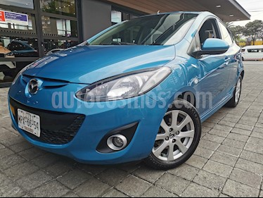 Mazda 2 i Touring Aut usado (2014) color Azul precio $140,000