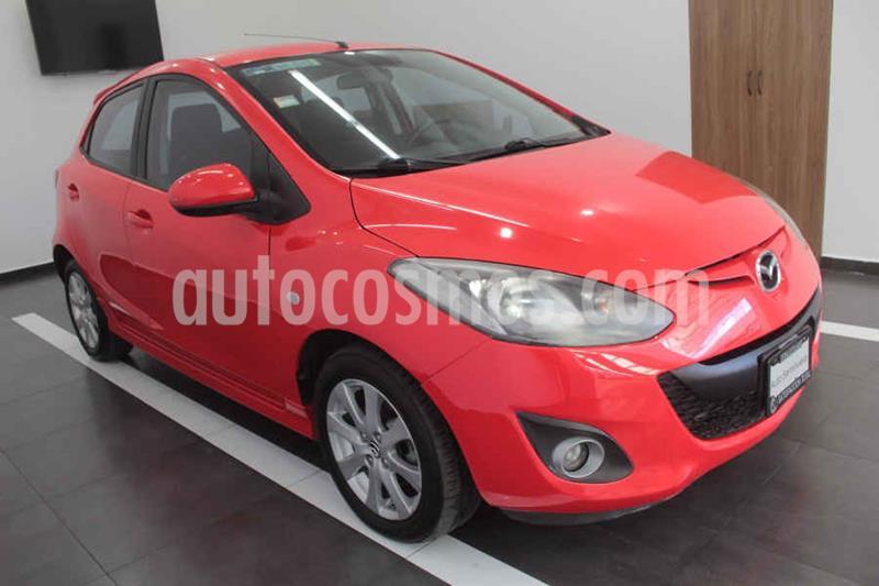 Mazda 2 Touring Aut usado (2013) color Rojo precio $129,000