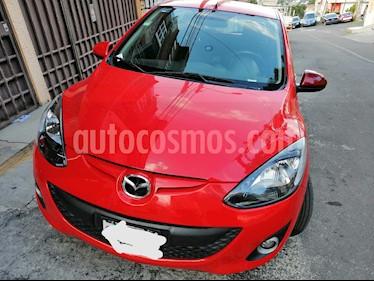 Mazda 2 Touring Aut usado (2013) color Rojo precio $130,000