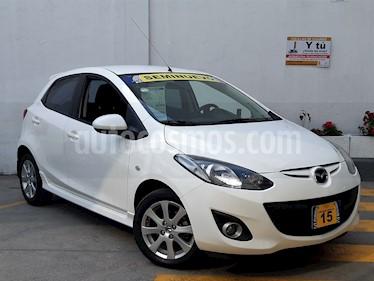 Foto venta Auto usado Mazda 2 Touring Aut (2015) color Blanco precio $179,500