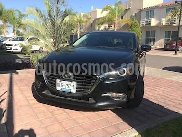 Mazda 3 Hatchback i Grand Touring Aut usado (2017) color Negro precio $295,000