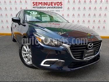 Foto venta Auto usado Mazda 3 Hatchback i Touring Aut (2017) color Azul Marino precio $245,000