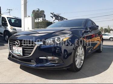 Mazda 3 Hatchback s usado (2018) color Azul Marino precio $268,000