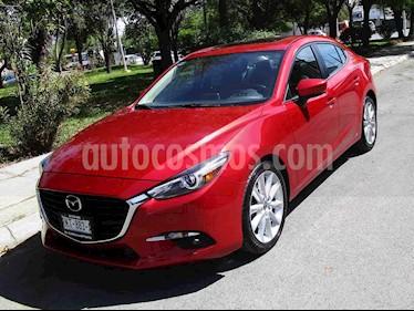 Mazda 3 Hatchback s Grand Touring Aut usado (2017) color Vino Tinto precio $259,000