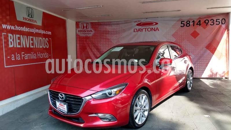 Mazda 3 Hatchback s Grand Touring Aut usado (2017) color Rojo precio $256,000