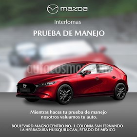 Mazda 3 Hatchback s Grand Touring Aut usado (2017) color Blanco Perla precio $257,000