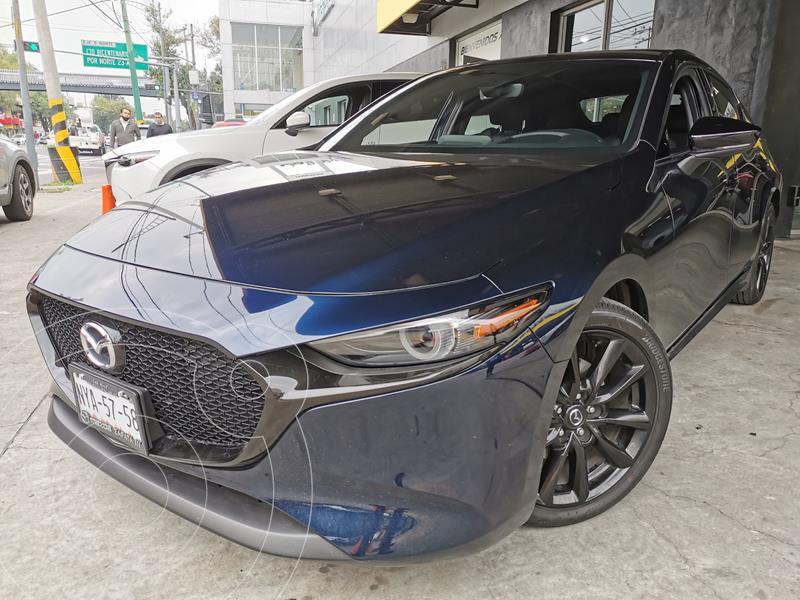 Foto Mazda 3 Hatchback Signature  usado (2021) color Azul Marino precio $505,000