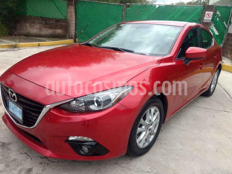 Mazda 3 Hatchback s Aut usado (2015) color Rojo precio $187,000