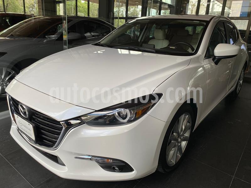 Mazda 3 Hatchback s Grand Touring Aut usado (2018) color Blanco Perla precio $298,000
