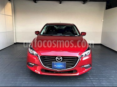 Mazda 3 Hatchback s  Aut usado (2017) color Rojo precio $259,000