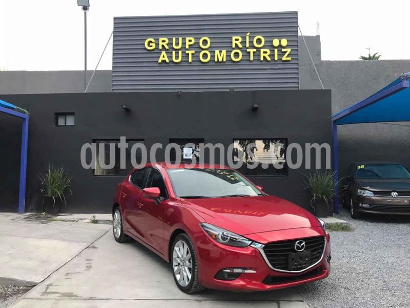 Mazda 3 Hatchback s Grand Touring Aut usado (2018) color Rojo precio $295,000