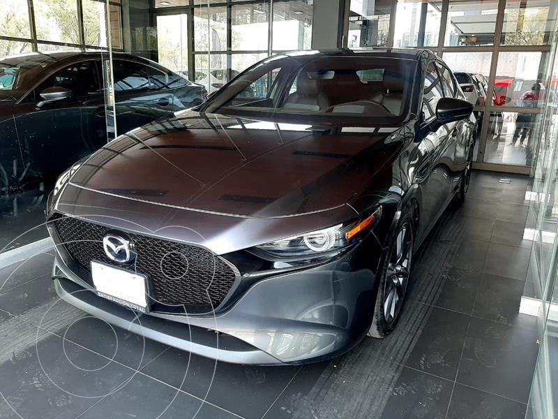 Foto Mazda 3 Hatchback i Grand Touring Aut usado (2020) color Gris Titanio precio $419,000