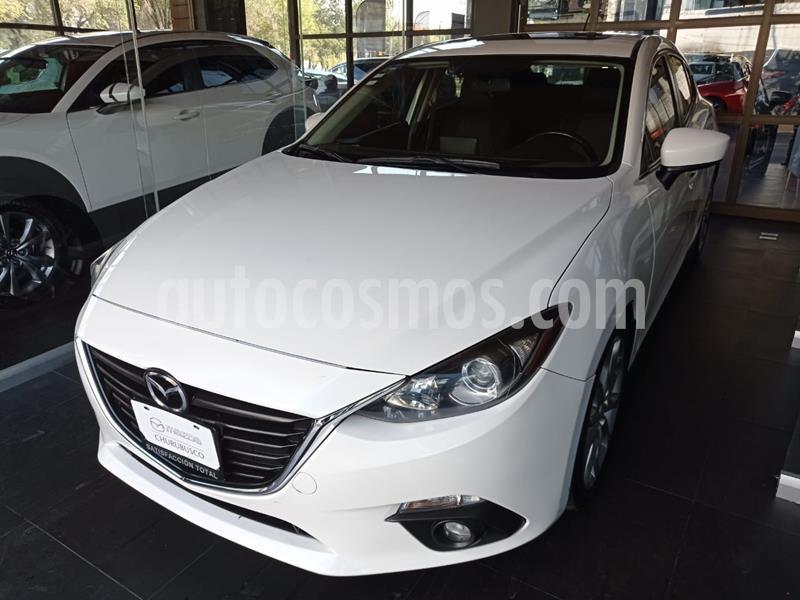 Mazda 3 Hatchback s Sport usado (2015) color Blanco Perla precio $220,000
