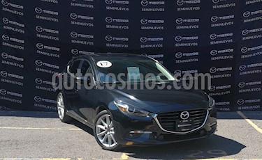 Mazda 3 Hatchback s Grand Touring Aut usado (2017) color Negro precio $267,000