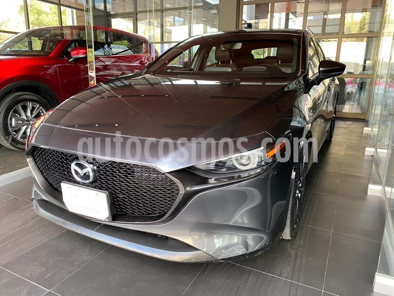 Mazda 3 Hatchback i Grand Touring Aut usado (2020) color Gris Titanio precio $385,000