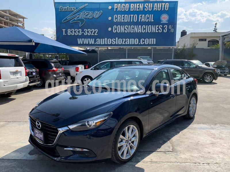 Mazda 3 Hatchback s Grand Touring Aut usado (2018) color Azul precio $299,900
