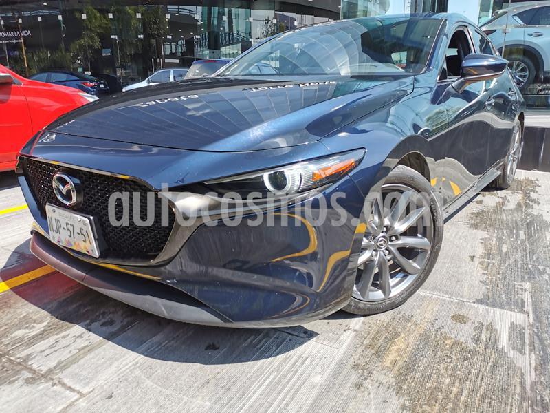 Mazda 3 Hatchback i Grand Touring Aut usado (2019) color Azul Marino precio $335,000