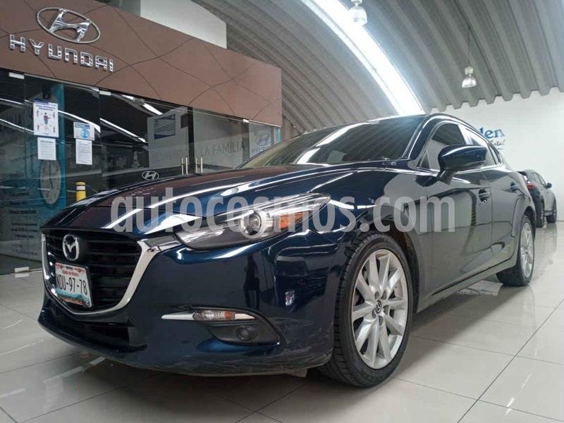 Mazda 3 Hatchback s Grand Touring Aut usado (2017) color Azul precio $240,000
