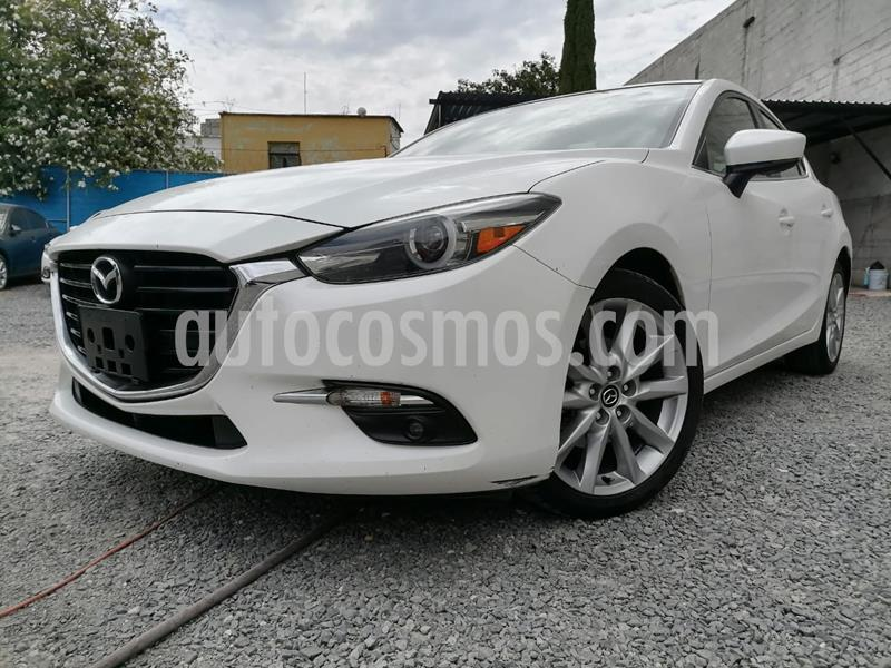 Mazda 3 Hatchback s Grand Touring Aut usado (2018) color Blanco Perla precio $299,000