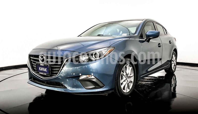 Mazda 3 Hatchback i Touring usado (2015) color Azul precio $209,999