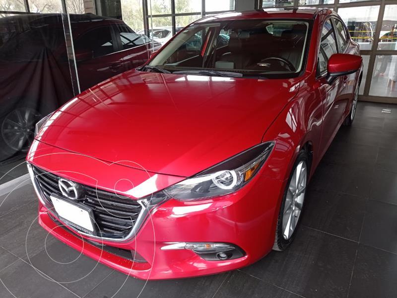 Mazda 3 Hatchback s Grand Touring Aut usado (2017) color Rojo precio $267,000