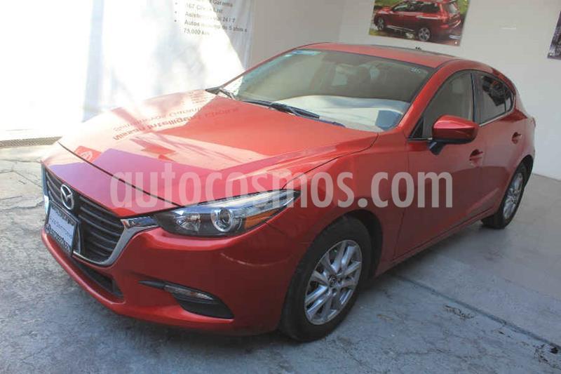 Mazda 3 Hatchback i Touring Aut usado (2018) color Rojo precio $252,000