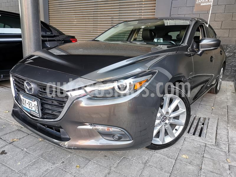 Mazda 3 Hatchback s Grand Touring Aut usado (2017) color Gris Titanio precio $260,000