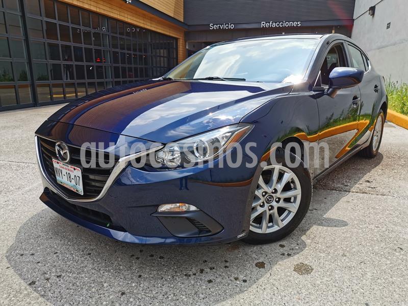 Mazda 3 Hatchback i Touring usado (2016) color Azul Acero precio $200,000