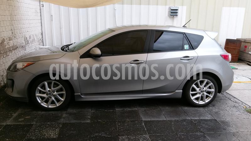 Mazda 3 Hatchback i Sport  Aut usado (2013) color Plata precio $155,000
