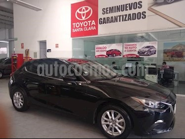 Mazda 3 Hatchback 5P HB I TOURING 2.0L TM6 QC RA-16 usado (2016) color Negro precio $200,000