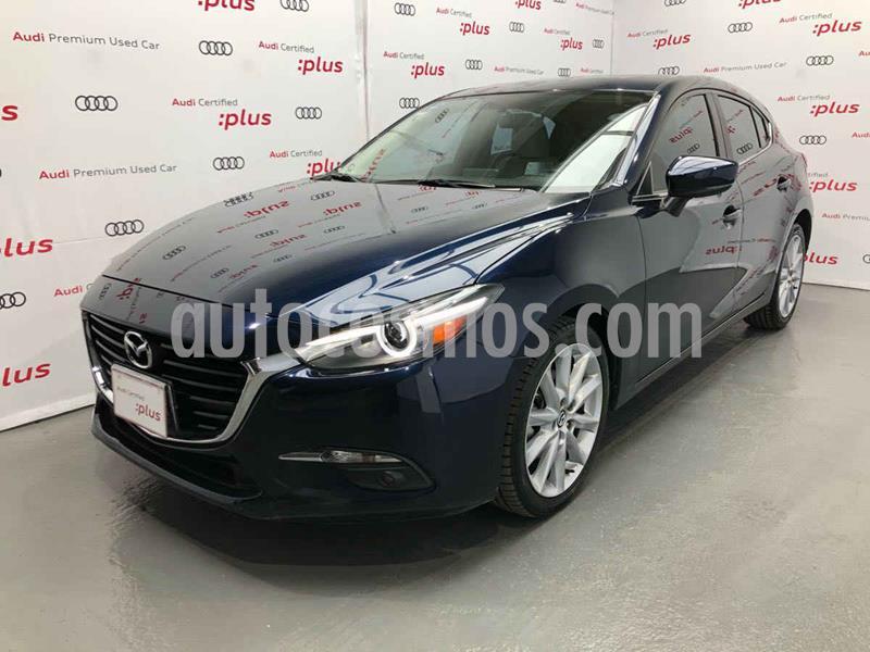 Mazda 3 Hatchback s Grand Touring Aut usado (2018) color Azul precio $310,000