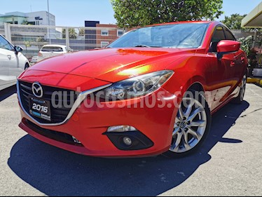 Mazda 3 Hatchback i Sport usado (2016) color Rojo precio $230,000