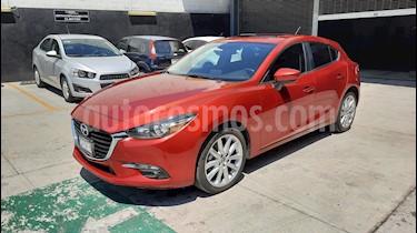Mazda 3 Hatchback s Sport Aut usado (2018) color Rojo precio $294,900