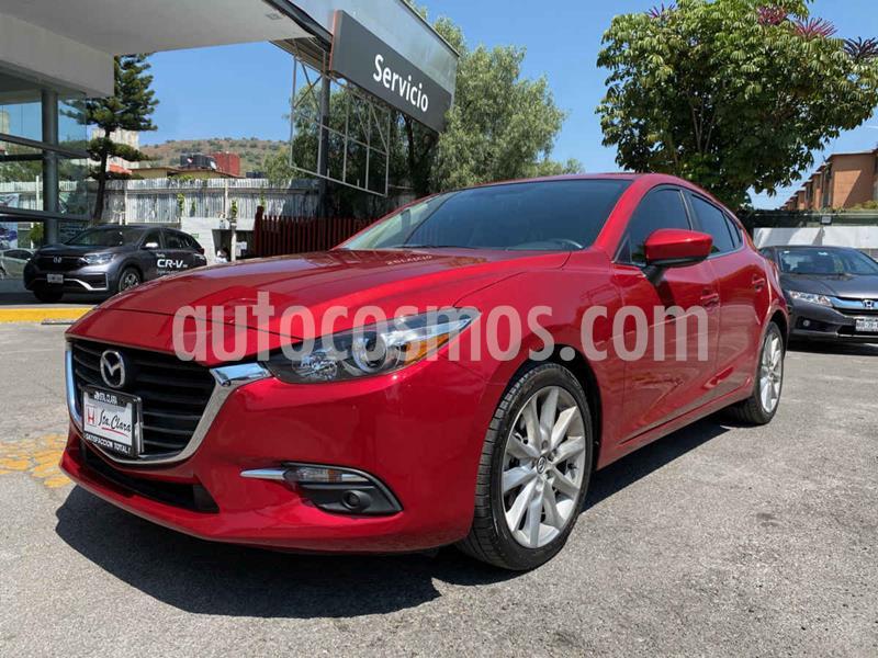 Mazda 3 Hatchback s usado (2018) color Rojo precio $267,000