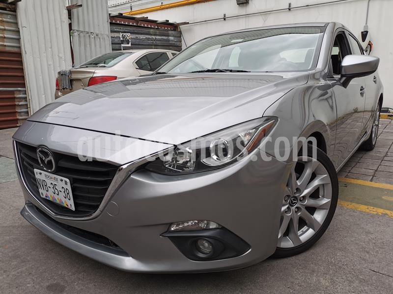 Mazda 3 Hatchback i Sport usado (2015) color Plata precio $195,000