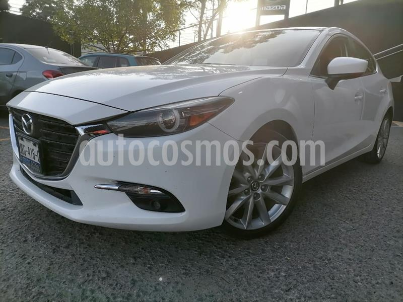 Mazda 3 Hatchback s Grand Touring Aut usado (2017) color Blanco Perla precio $275,000
