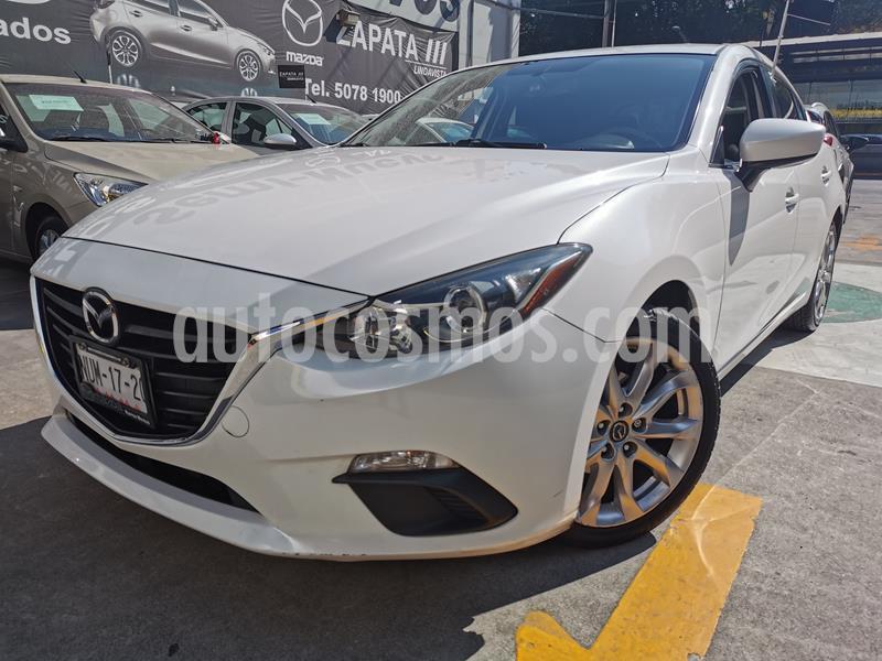 Mazda 3 Hatchback i Touring usado (2015) color Blanco Perla precio $173,000