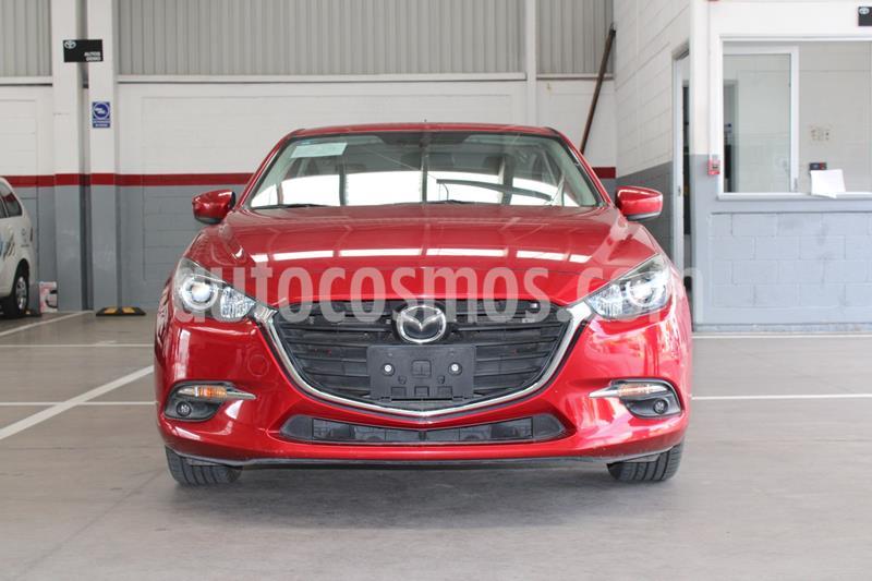 Mazda 3 Hatchback s usado (2017) color Rojo precio $253,000