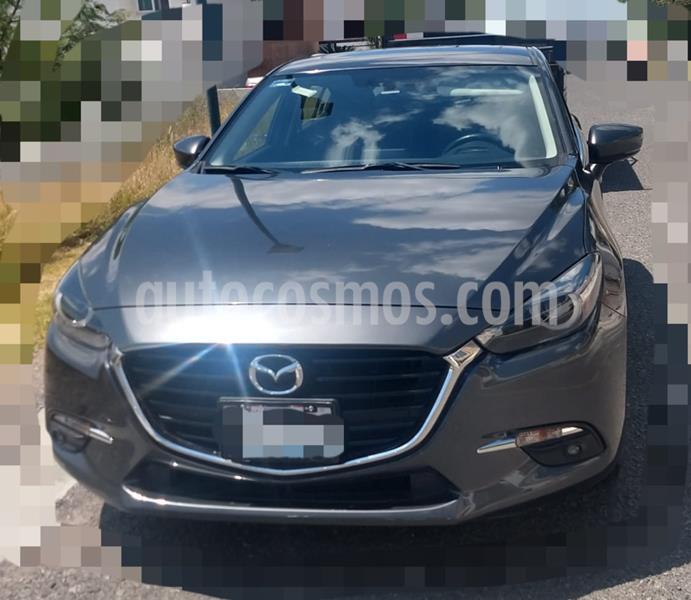Mazda 3 Hatchback i Grand Touring Aut usado (2017) color Gris precio $245,000