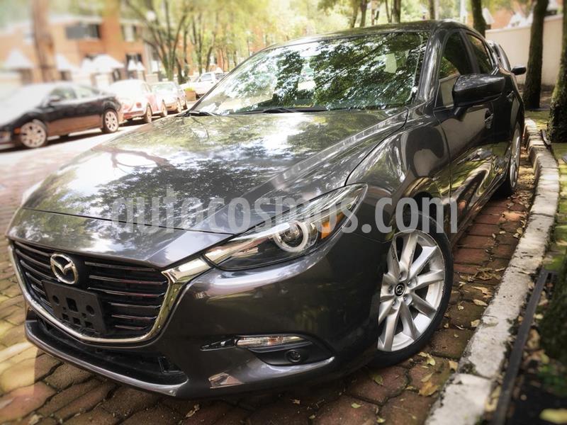 Mazda 3 Hatchback s Grand Touring Aut usado (2018) color Gris Titanio precio $259,000
