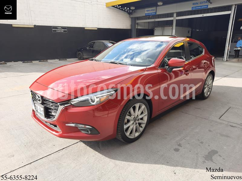 Mazda 3 Hatchback s Grand Touring Aut usado (2017) color Rojo precio $267,900