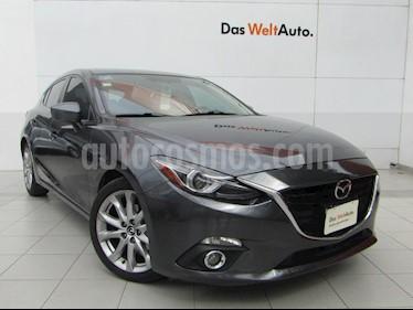 Mazda 3 Hatchback s Grand Touring Aut usado (2014) color Gris Meteoro precio $189,000