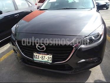 Mazda 3 Hatchback s  Aut usado (2017) color Gris Titanio precio $269,000