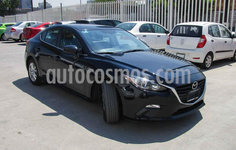 Mazda 3 Hatchback s  Aut usado (2015) color Negro precio $180,000