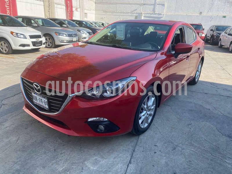 Mazda 3 Hatchback s usado (2015) color Rojo precio $199,000