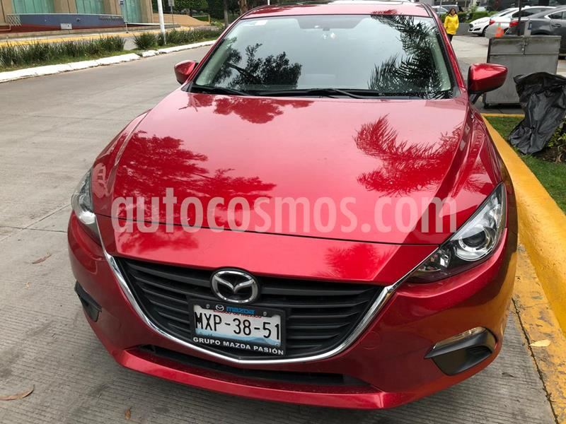 Mazda 3 Hatchback i Touring usado (2016) color Rojo precio $210,000