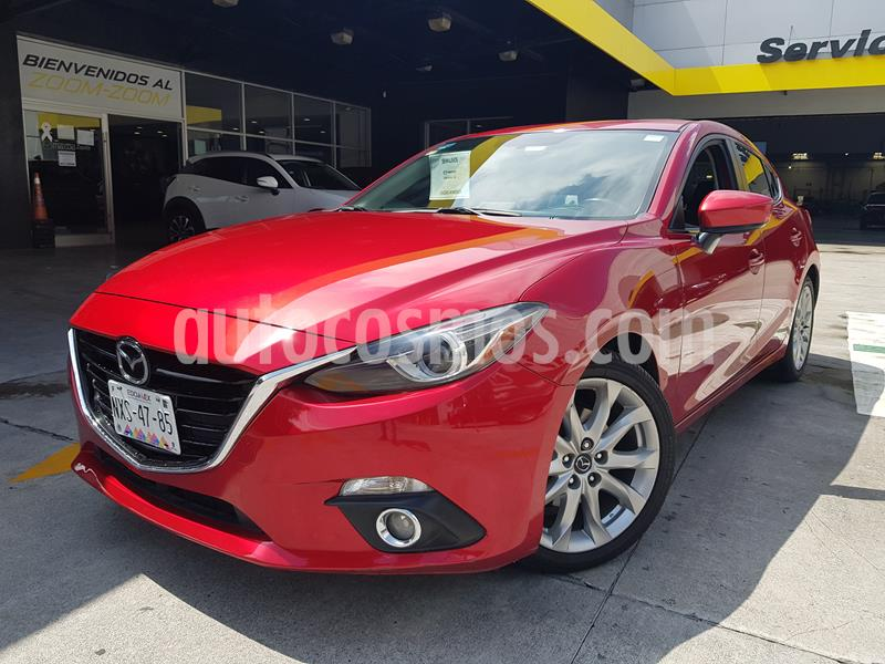 Mazda 3 Hatchback s Grand Touring Aut usado (2015) color Rojo precio $225,000