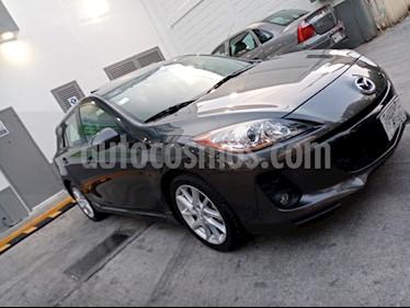Mazda 3 Hatchback s usado (2012) color Gris Oscuro precio $123,000