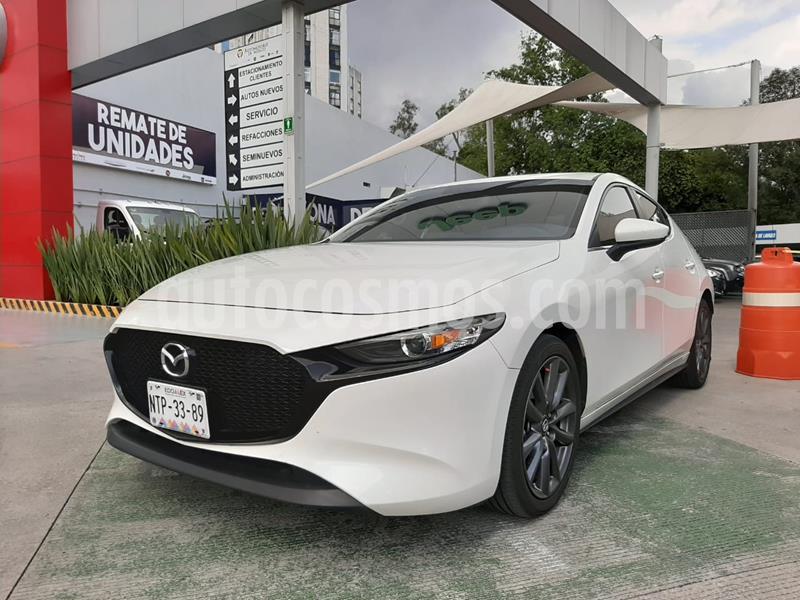 Mazda 3 Hatchback i Sport  Aut usado (2020) color Blanco Perla precio $322,000